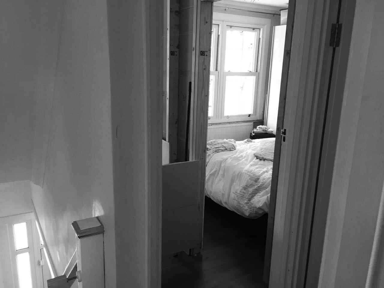 Gabriele Albanese - Portfolio - Casa AL_19 - London UK - Foto Cantiere Camera matrimoniale origiaria