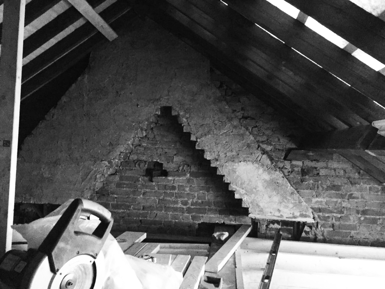 Gabriele Albanese - Portfolio - Casa AL_19 - London UK - Cantiere Soffitta
