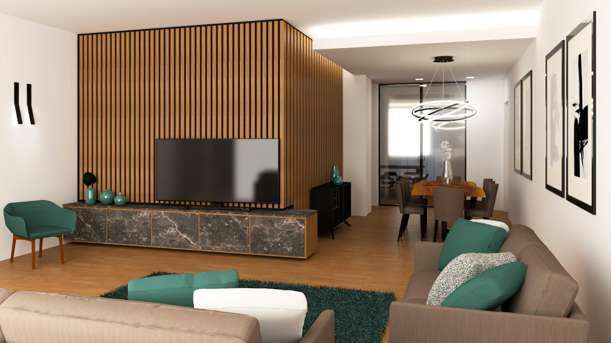 Gabriele Albanese - Casa PMG_20 - Area Living ristrutturazione