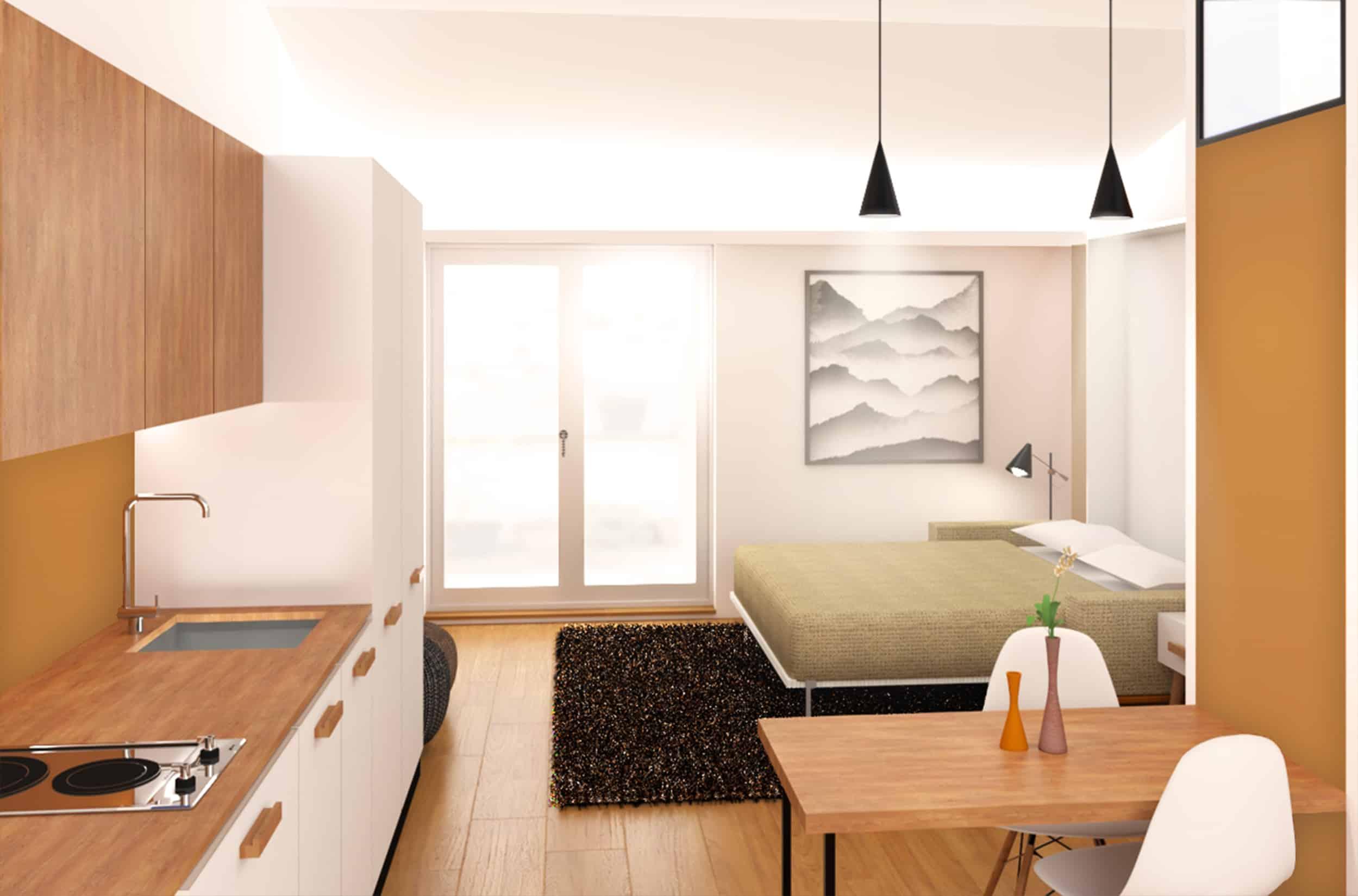 Ristrutturazione appartamento sottotetto Milano